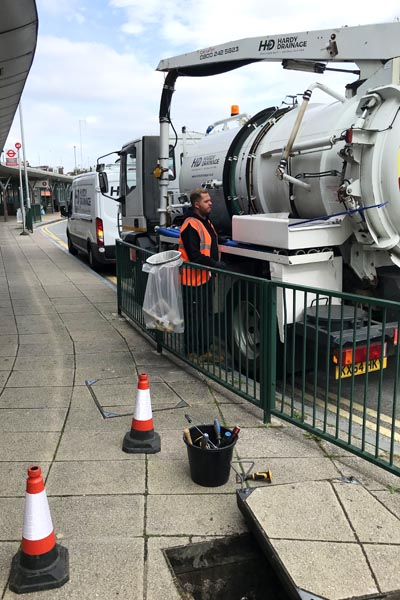 Drainage tanker services